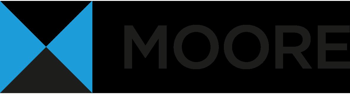 Moore Logo in Farbe