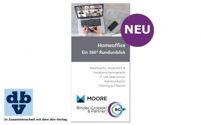 HOMEOFFICE — Ein 360° Rundumblick — ab Mai 2021 erhältlich!