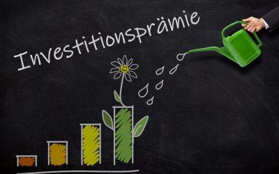INVESTITIONSPRÄMIE — Fristablauf für erste Maßnahme 31.05.2021, neueFAQ