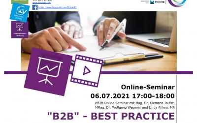 """""""B2B"""" — Best Practice  Unternehmenssanierungen erleichtern"""