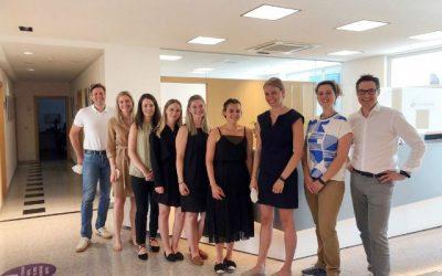 Das diesjährige Summer Trainee Programm bei BG&P und MOORE BG&P war wieder ein voller Erfolg