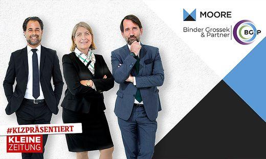 Karriere in der Wirtschaftsprüfung — MOORE BG&P in der Kleinen Zeitung!