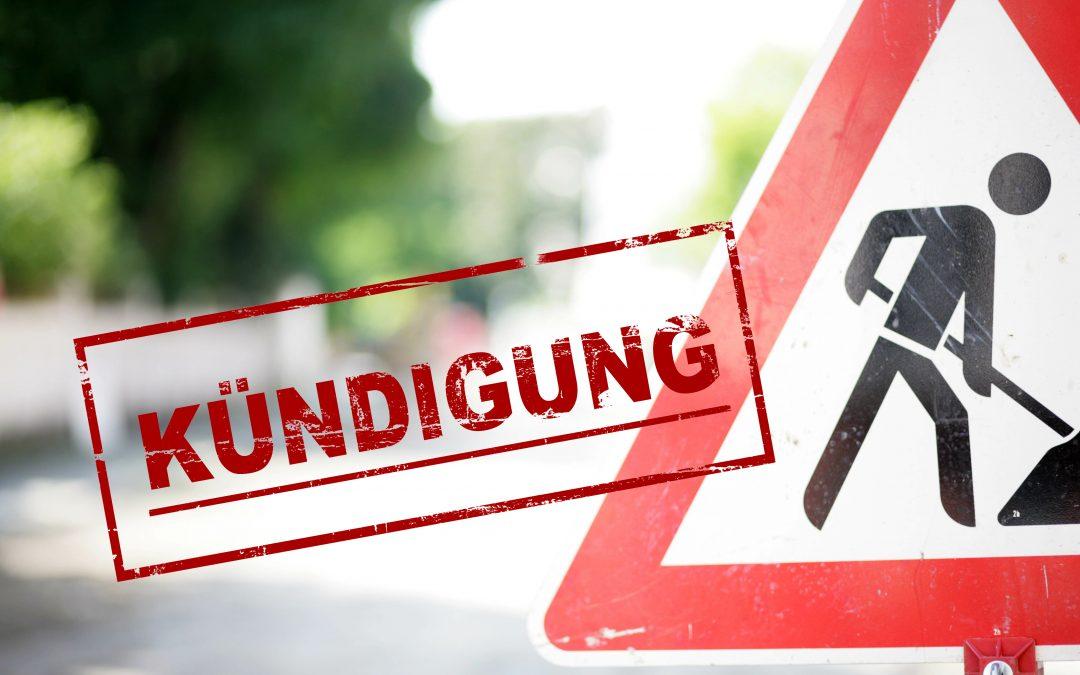 Neue Kündigungsfristen für Arbeiter ab 01.10.2021